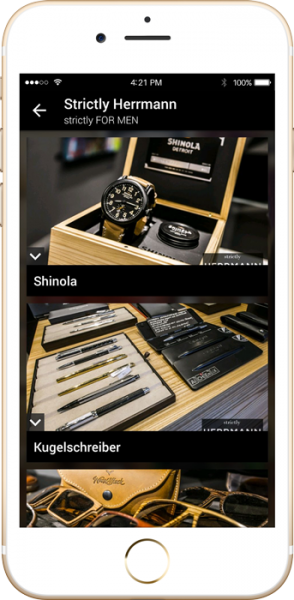 Strictly Herrmann Business App - Entwicklung, Konzeption & Design by apptec
