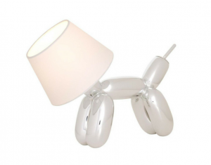 Doggy Lamp silber