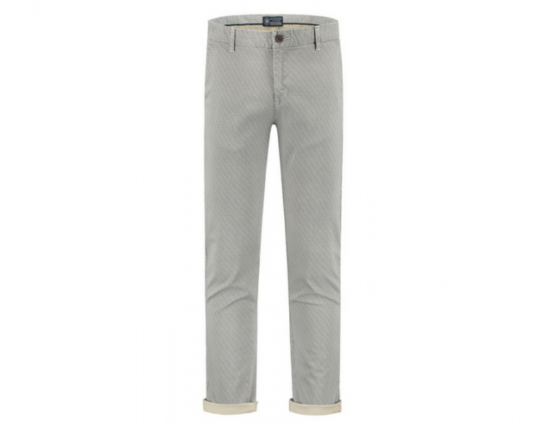 Chino Mini Oriental Stretch Twill Kobalt