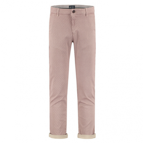 Chino Mini Oriental Stretch Twill Port Red