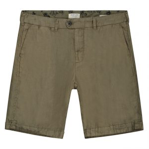 Chino Shorts Herringbone Linen