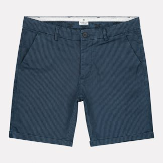 Chino Shorts Fine Marine Stripe Lt. Stretch Twill