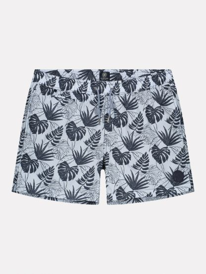 Swimshorts Flower Stripe