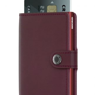 Miniwallet Original Bordeaux-Secrid