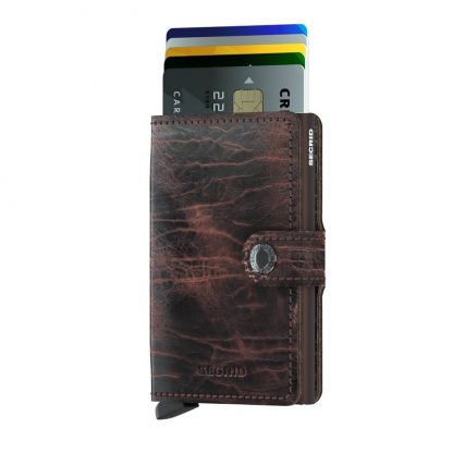 Miniwallet Diamond Black-Secrid