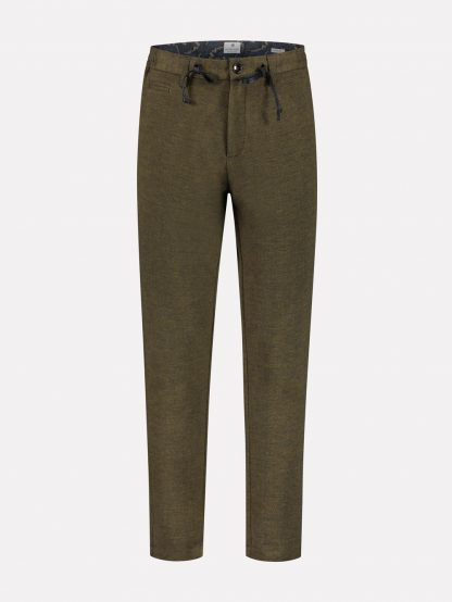 Quinn Tailored Jogger Pants Herringbone sweat