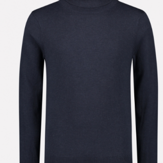 Turtle Neck Soft Cotton Melange