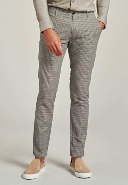 Charlie Chino Pants Mini Check