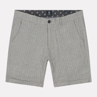 Lancaster Short Stitched Stripe